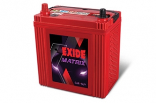 Exide Batteries Matrix