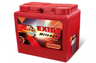 Exide Batteries Mileage