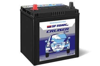 SF Sonic Cruiser SC540-DIN65LH Battery
