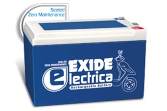 Exide Electrica FEC9-12EC42R Battery