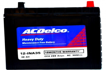 ACDelco HMF 12-INA35 Battery