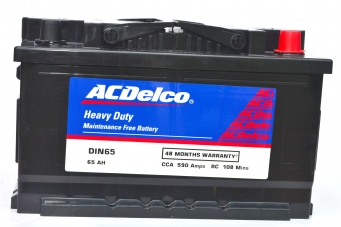 ACDelco HMF DIN65 Battery