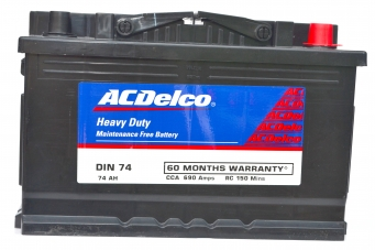 ACDelco HMF DIN74 Battery