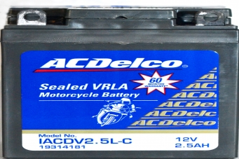 ACDelco Sealed VRLA IACDV2.5L-C Battery