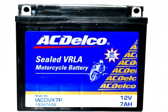 ACDelco Sealed VRLA IACDVX7R Battery