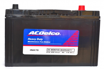 Ac Delco Battery >> Ac Delco Hmf Ina70 Battery Price Compatible Cars Batterydekho