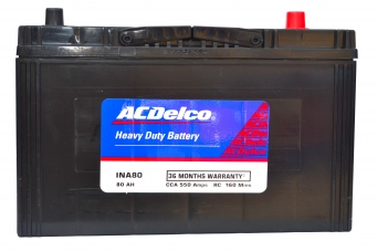 ACDelco HMF INA80 Battery