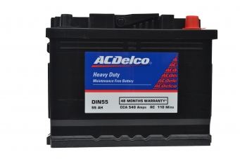ACDelco HMF DIN55 Battery